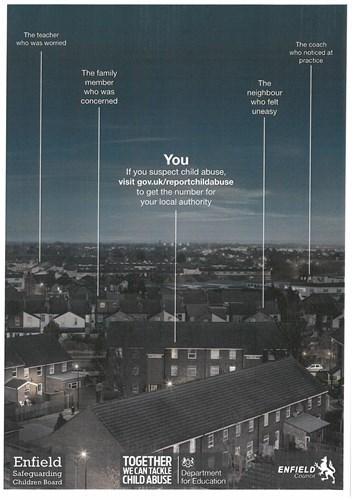 Enfield Safeguarding Children Board poster